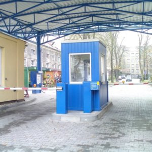 High Speed Parking Barrier With Frequency Changer